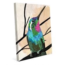 hummingbird canvas wall art