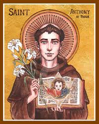 Image result for saint anthony of padua art