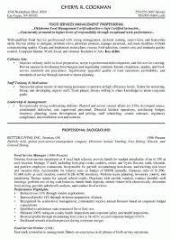 Restaurant Manager Resume Skills Manager Food Service Resume Food Service Manager Resume Sample