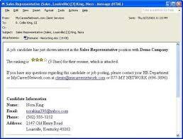 Best Email For Resume Samples Www Freewareupdater Com