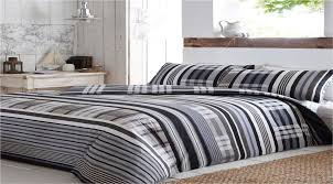 checked amp striped quilt duvet cover amp pillowcase