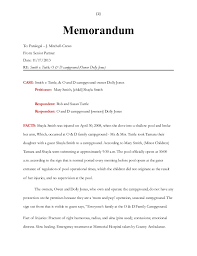 What Is An Internal Memo Unit 9 Final Project And Internal Memo Of Law Instructions