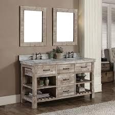 rustic modern bathroom vanities. Bathroom Rustic Modern Vanities Free Standing White Porcelain Soaking Bathtub Minimalist Mirrors Decor Vessel Sink Plus Y