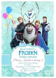 Frozen Birthday Invitations Frozen Birthday Invites Template Invitations Invitation Plus