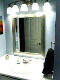 bathroom vanity mirror lights. Battery Operated Bathroom Lights Vanity Mirror Lighting Ideas  Lighted Modern