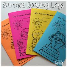 First Grade Reading Log Summer Reading Logs Fluttering Through First Grade