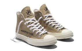 Rustic Chic Tyler The Creators Latest Converse Designs Are Made Out Of Burlap Footwear News Tyler The Creator Converse Burlap Collection How To Purchase