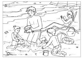Small Picture Seaside Colouring Pages