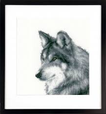 Vervaco Cross Stitch Charts Wolf Cross Stitch Kit