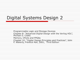 Advanced Digital Design Ppt Digital Systems Design 2 Powerpoint Presentation Free