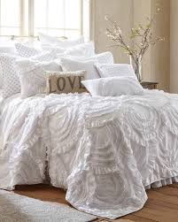 lyla ruffled luxury quilt print quilts bedding bed bath stein mart intended for white ruffle duvet idea 12