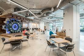 creative office ceiling. Perfect Ceiling Capital Factory  Creative Coworking Space In Austin Texas With Office Ceiling