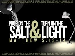 Salt And Light Poster Living Word Salt And Light