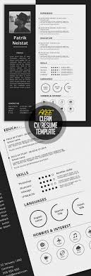 Trendy Resumes Free Download Free Resume Templates for 100 Freebies Graphic Design Junction 43