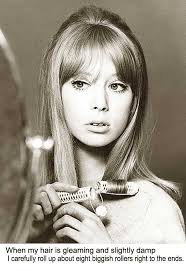 1960 Hairstyles 17 Stunning 24s Long Hairstyle Tips By Sixties Model Pattie Boyd Glamourdaze