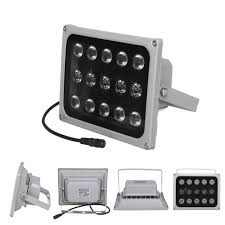 Led Night Vision Light 12v Infrared Illuminator Light Lamp 15 Led Night Vision