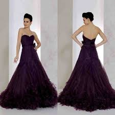 best purple wedding dress images