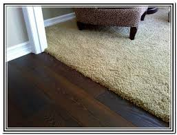 carpet to wood floor transitions