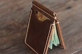 leather wallets money clip