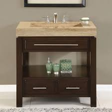 Bathroom Single Vanity 36 Perfecta Pa 5522 Bathroom Vanity Single Sink Cabinet Dark