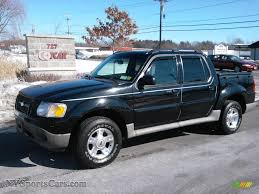2002 Ford Explorer Sport Trac 4x4 In Black C94043 Nysportscars