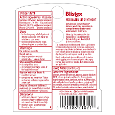 blistex cated lip ointment walgreens