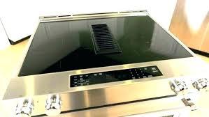 kitchenaid downdraft electric cooktop downdraft electric