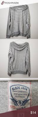 blackjack stripe grey hoo men s m new with keep him fortable and looking cool