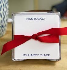 nantucket happy place note set