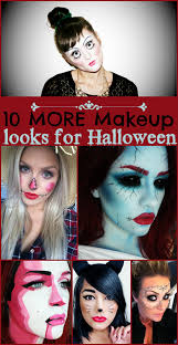 10 more makeup looks for halloween creepy cute and unique ideas for your halloween