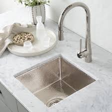 hammered nickel sink. Perfect Nickel Cantina Bar Sink In Polished Nickel CPS834 Intended Hammered O