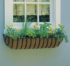 Hayrack Planter Haystack Planter Window Box Trough Kinsman Company Wire Window Box Liners