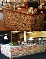 you don t know what to do with those hundreds of old books you can t part with use this novel idea to make any size table