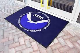 noaa custom logo rug
