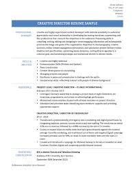 Download Creative Director Resume Haadyaooverbayresort Com