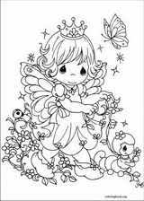 Small Picture Precious Moments coloring pages ColoringBookorg