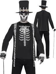 mens witch doctor costume voodoo horror fancy dress party outfit image 2