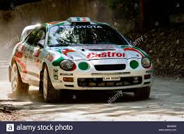 1995 Toyota Celica ST205 with driver Mark Courtney on the rally ...