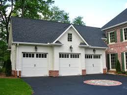 9 foot garage doorthree garage doors  Westover 3Bay Garage Garage Plans  ALP