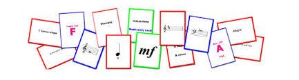 Kết quả hình ảnh cho music flashcard