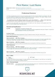 Proper Resume Format 2017 The Best Resume Formats Best Resume