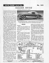 xk150 wiring diagram wiring diagram technic jag lovers brochures an xk150 service pagealso the xk150 wiring diagram lower page 8