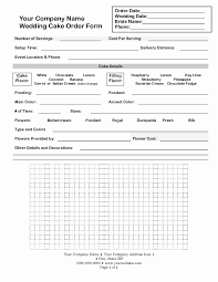 Sample Cake Order Form Template 24 Beautiful Candy Order Form Template DOCUMENTS IDEAS DOCUMENTS 15