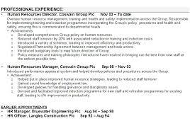 Human Resources Resume samples   VisualCV resume samples database human resources resume sample