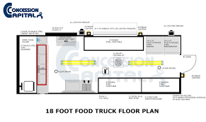 food truck floor plans. Floorplan Samples For Food Trucks And Concession Trailers Truck Floor Plans