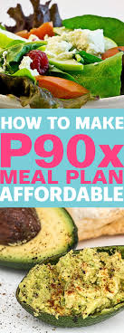 p90x meal plan affordable