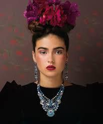 frida kahlo makeup