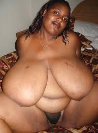 Extra large black nude women