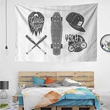 huawuchou baseball bat skateboard decor