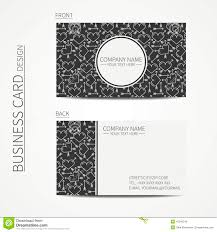 Product Line Card Template Vintage Creative Simple Business Card Template Stock Vector